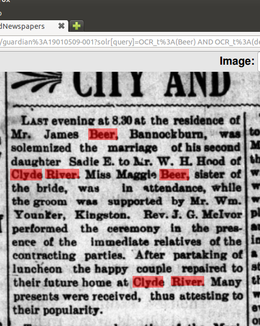 Beer_Sadie_marriage_1901