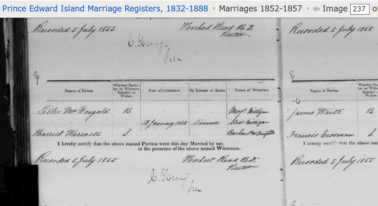 McDougald_Peter_marriage