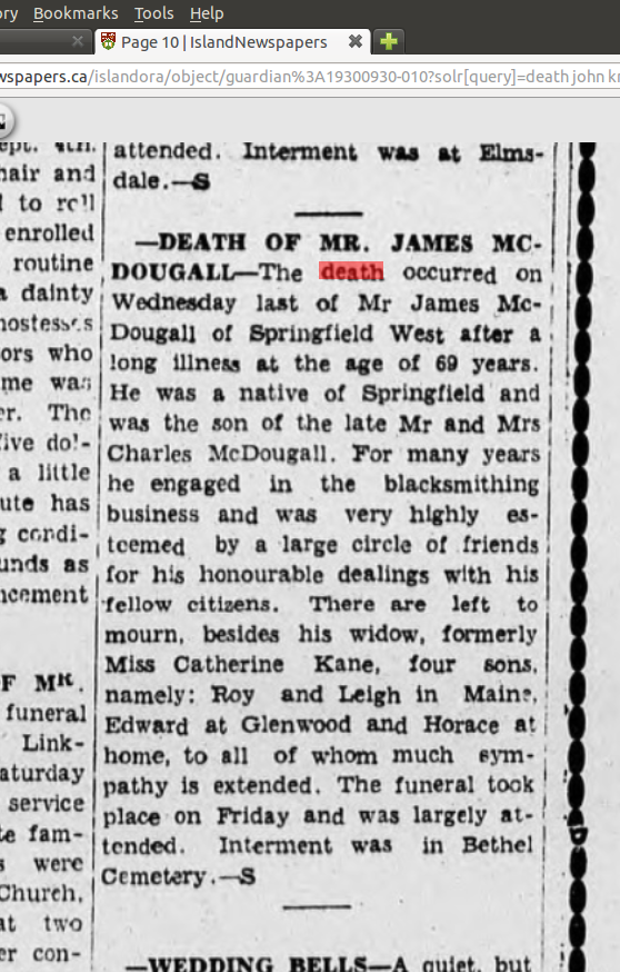 McDougall_James_death_1930