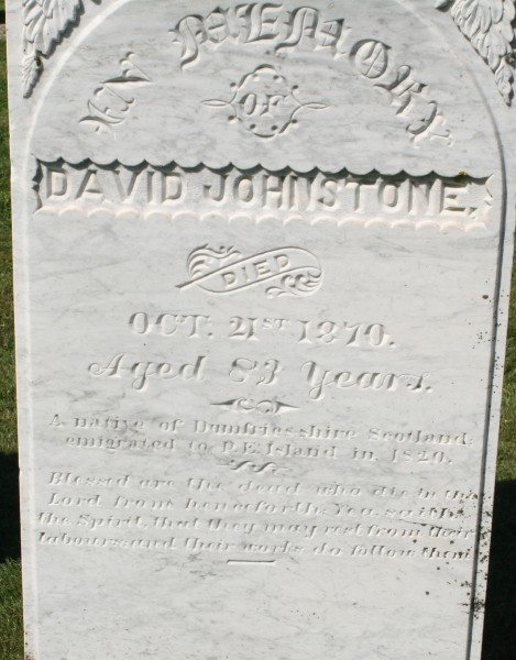 Johnstone_David_grave
