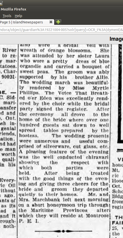 Dyment_Marchbank_marriage_1922_part2